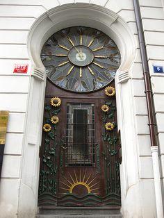 Free photo Art Nouveau Decorative Front Door Old Town Prague - Max Pixel 17556762 Bring Your Doors Inside Entrance Doors, Doorway, Unique Front Doors, Art Deco, Art Nouveau Architecture, House Architecture, Cool Doors, Semarang, Door Knockers