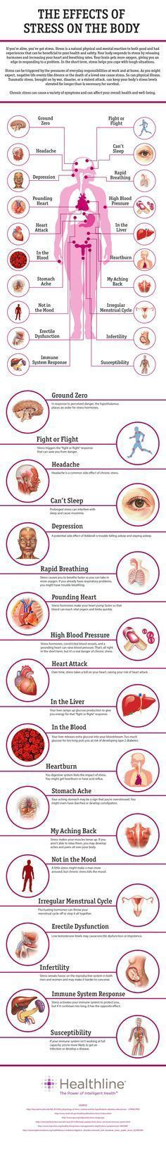 20 Effects Of Stress On The Body=> http://www.healthline.com/health/stress/effects-on-body #stress #InsomniaHacks