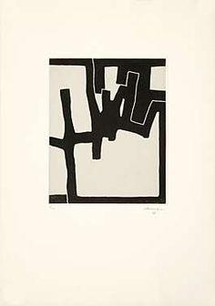 Eduardo Chillida (1924-2002), Inguru VI, 1968. Etching and aquatint mounted on China paper. Plate size: 43.7cm H x 35.3cm W. Sheet size: 89.6cm H x 63.7cm W. Edition of 30 copies.