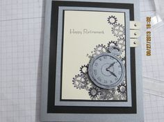 Nice retirement card; could also be used for a masculine b-day