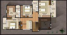 Sobrado 3 quartos com Varanda Gourmet - Cód. 98 | Só Projetos