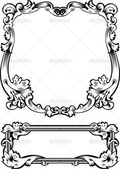 Antique Frame Engraving $3.00