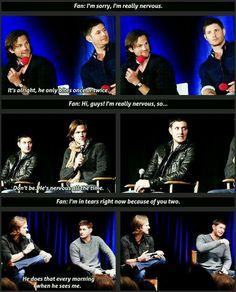 J2 // Supernatural // Jensen Ackles // Jared Padalecki // Padackles // Winchester