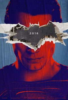 New Batman VS Superman poster