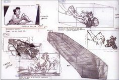 Living Lines Library: Aladdin (1992) - Storyboards
