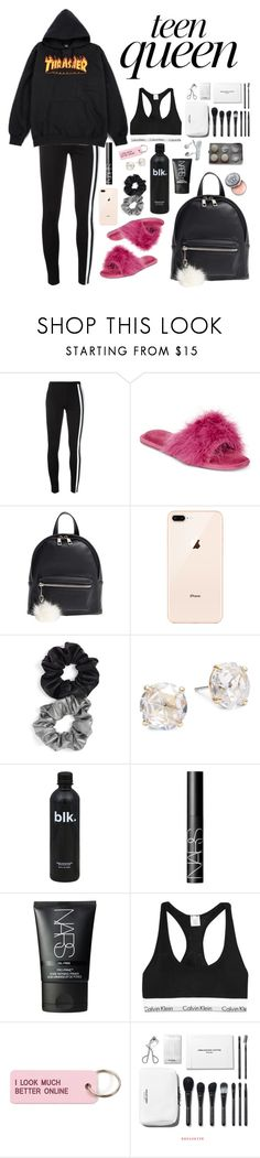 """""""Girls in my classes: Comfy chic"""" by snakehandjimmy ❤ liked on Polyvore featuring Y-3, Thalia Sodi, BP., Berry, Kate Spade, NARS Cosmetics, Calvin Klein Underwear, Various Projects and Bobbi Brown Cosmetics"""