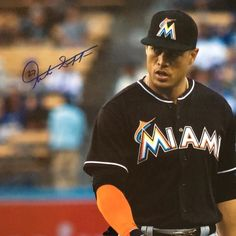 THINK BLUE: So this happened yesterday! @giancarlo818 on a huge 24x36 photo that I took of him from Tuesday's game. Thanks to @jessicafuentes22 you the real MVP! by paul_diddy