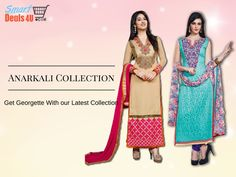 Get Georgette Anarkali Suits With Latest Collection !! #suits #Suitsonline #anarkalisuit #georgetteSuit  Whats App :- 9953089027  FOR BUY CLICK HERE:- Smartdeals4u.com