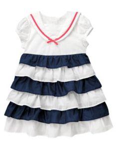 4546bf89f9965 Gymboree Blooming Nautical 12-18m Dresses Kids Girl