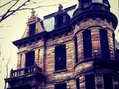 Franklin Castle in Cleveland, Ohio.  The most haunted privately-owned home in Ohio