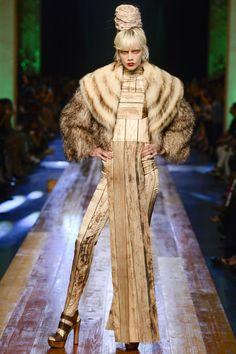 Jean Paul Gaultier Fall 2016 Couture Fashion Show - Marjon Jonkman