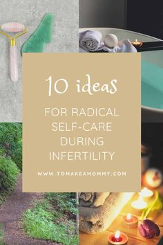 10 self-care ideas during infertility Natural Fertility, Fertility Diet, Wellness Tips, Health And Wellness, Help Getting Pregnant, Baby On A Budget, Trying To Conceive, Breastfeeding Tips, Self Care