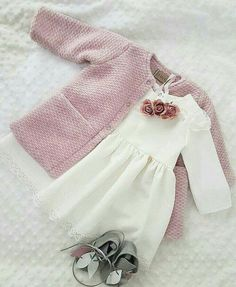 New baby outfits cutest 42 ideas Baby Outfits, Little Girl Outfits, Cute Outfits For Kids, Baby Girl Dress Patterns, Baby Girl Dresses, Baby Dress, Baby Girl Fashion, Kids Fashion, Fashion Outfits