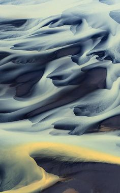 Aerial Photos Capture Iceland's Hypnotizing Rivers | Co.Design | business + innovation + design
