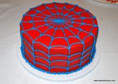 Spiderman Birthday Cake by Kalico Kitchen