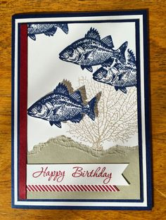 Lissa Carter Independent Stampin' Up! Demonstrator: INKspired Blog Hop #INK013 - Happy Birthday Bob
