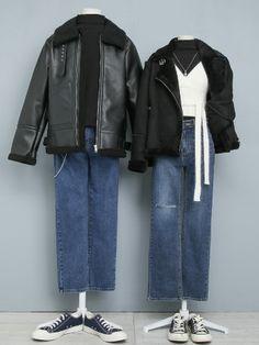 Matching Outfits Best Friend, Matching Couple Outfits, Boho Outfits, Cute Outfits, Fashion Outfits, Modest Wear, Fashion Couple, Korean Street Fashion, Kpop Fashion