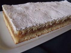 Citromhab: Almás sütemény