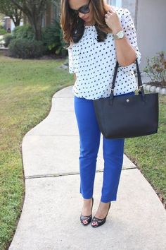 Style: All About Polka Dots - Tiffany D. Brown