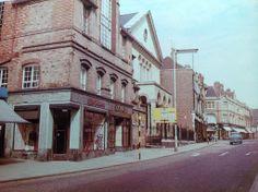 .Top of Gold Street, Kettering. Fuller Baptist Church on the left hand side