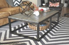 Creative DIY Coffee Table Projects • Ideas  Tutorials, including this one from house updated!