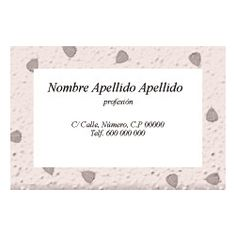 Tarjetas de Visita Una Cara Horizontal Pretty white Place Cards, Place Card Holders, Frame, Business Cards, Faces, Picture Frame, Frames