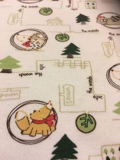 Rare Kissy Kissy Baby Blanket Into The Woods 100% Pima Cotton White Green  | eBay