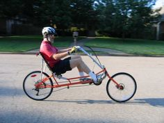 The Ranger is a good touring recumbent