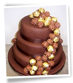 Ferrero Rocher Chocolate Fudge Cake Recipe