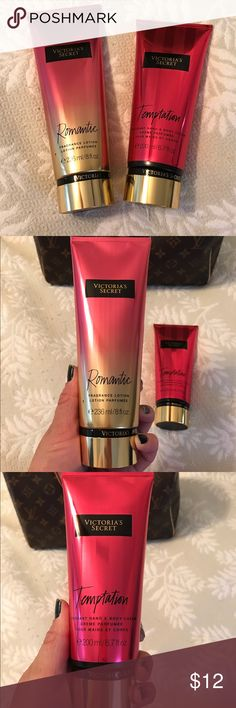 VS body lotion 2tubes Brand new,they were given to me as xmas presents but I have sensitive skin :( they smell great Fresh apple/saguaro flower and pink petals/solar musk. Victoria's Secret Other