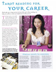 Tarot reading for your Career www.thepsychicline.com