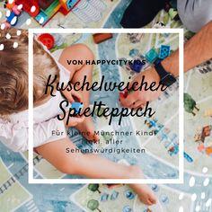 Kuschelweicher Spielteppich von happycitykids Mama Blog München