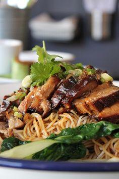 Char Siu pork noodles