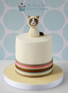 Grumpy Cat Mini Cake