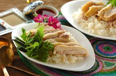 日本で専門店もある人気メニューを炊飯器で簡単に!鶏肉の旨みが染みたご飯は、アッサリだけどコクのある味です。