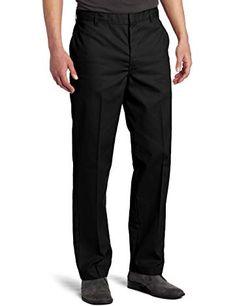 e92ca61c Dickies Men's Flat-Front Pant Leatherface Costume, School Uniform Pants,  Mens Dress Pants