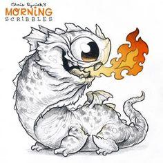 Dragon breath  #morningscribbles