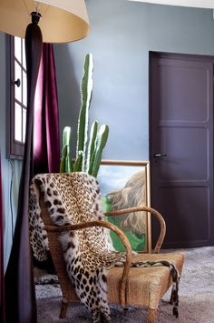 4 Palette Ideas for Benjamin Moore's 2016 Color of the Year: Shadow | Violet & Lime | MotleyDecor.com