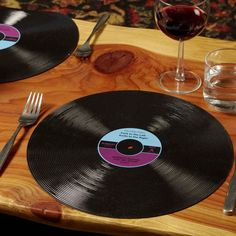 "12"" Record Placemats from GamaGo"
