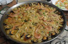 Paprika En La Cocina: Arroz de pescado y marisco
