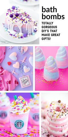 DIY bath bombs are fun, pretty, and easy to make! You will love these DIY bath bomb recipes that will save you money on storebought bath bombs! # Easy DIY bath bombs 29 Fabulous DIY Bath Bombs for Beautiful & Sweet Smelling Skin Best Bath Bombs, Fizzy Bath Bombs, Homemade Bath Bombs, Bombe Recipe, Lip Scrub Homemade, Bath Fizzies, Bath Salts, Bath Bomb Recipes, Soap Recipes