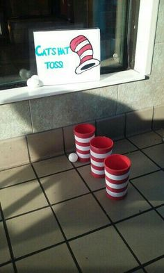 Cat in The Hat/Dr. Seuss Game Informations About Cat in The Hat/Dr. Seuss Game Pin You can easily us Dr Seuss Game, Dr Seuss Week, Dr Seuss Snacks, Dr Seuss Party Ideas, Dr Seuss Birthday Party, Birthday Ideas, Dr. Seuss, Dr Seuss Activities, Preschool Activities