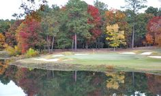 View of hole #8 on the Dogwood nine