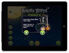 Angry Birds Space z solówką Slasha