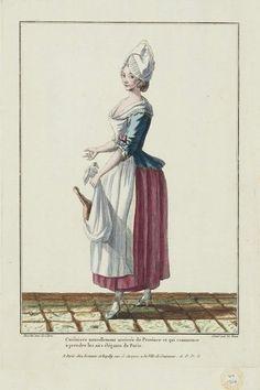Gallerie des Modes et Costumes Français. 18th Century Clothing, 18th Century Fashion, Rococo Fashion, French Fashion, Women's Fashion, Costume Français, Costume Ideas, Disney Princess Movies, Printmaking