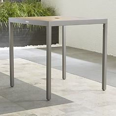 Alfresco Natural High Dining Table
