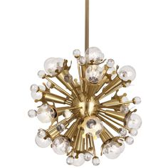 Modern Glamour.A groovy classic with our own twinkly twist. The Mini Sputnik Chandelier is perfect for adding some space-age elegance to your powder room,