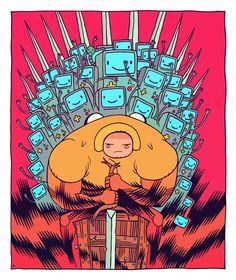 Glob of Thrones by Dan Hipp