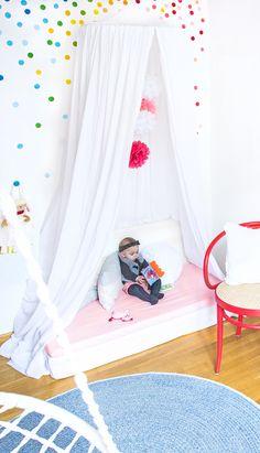 Nursery Ideas: My Three Favorite DIY Tips for a Cheap Establishment - Home Decor Girl Room, Girls Bedroom, Recycled Decor, Snug Room, Kids Room Design, Children's Place, Family Room, Toddler Bed, Room Decor