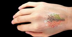 It's alive! These 'living tattoos' may someday monitor your health